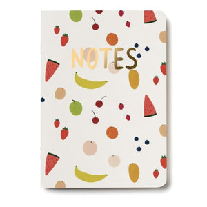 Cahier de note - Fruits