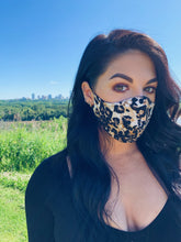 Load image into Gallery viewer, TESSA GLORIE | Leopard Non Medical Face Mask