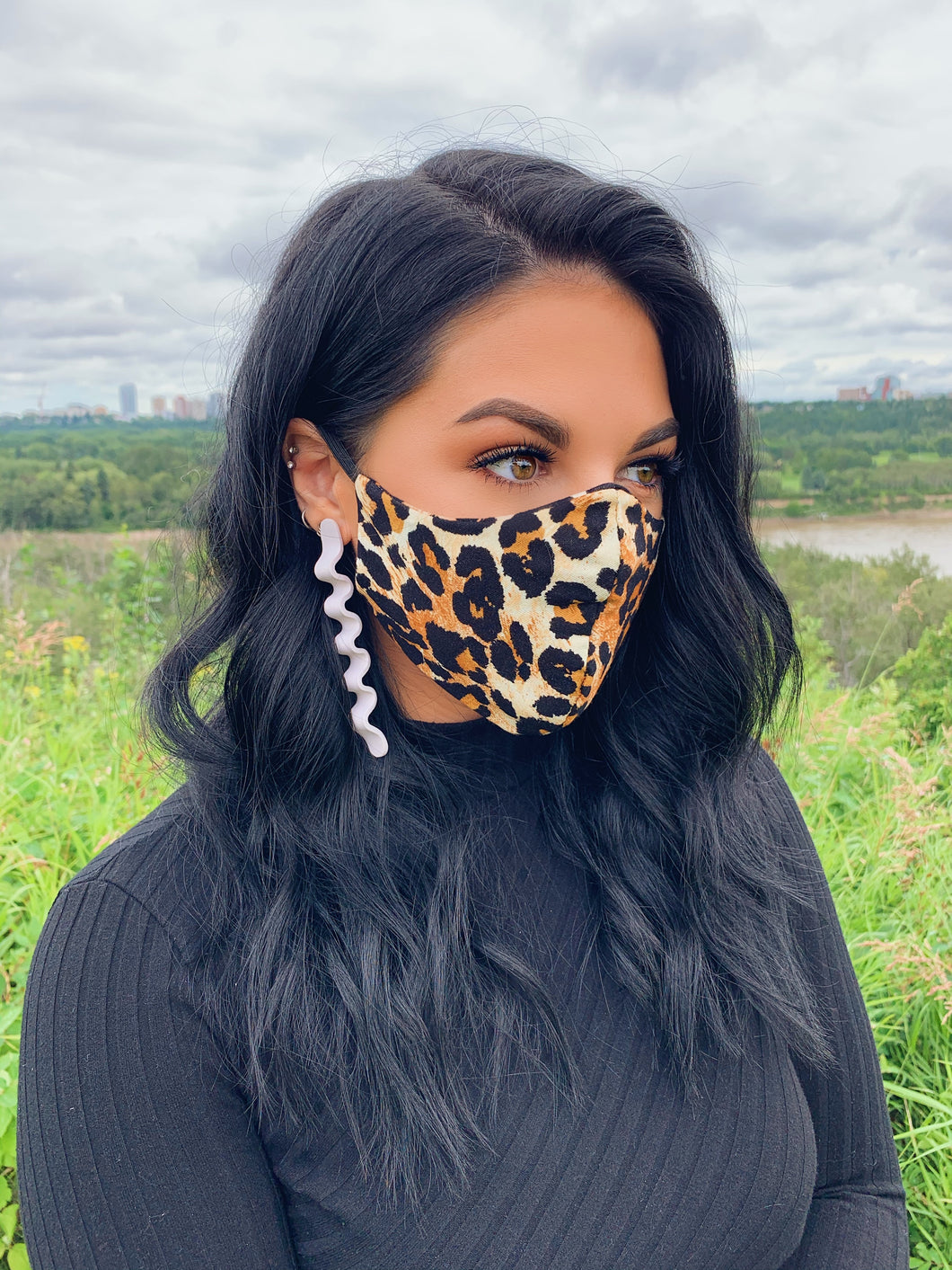TESSA GLORIE | Classic Leopard Non Medical Face Mask