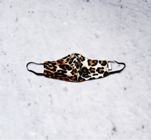 Load image into Gallery viewer, TESSA GLORIE | Classic Leopard Non Medical Face Mask