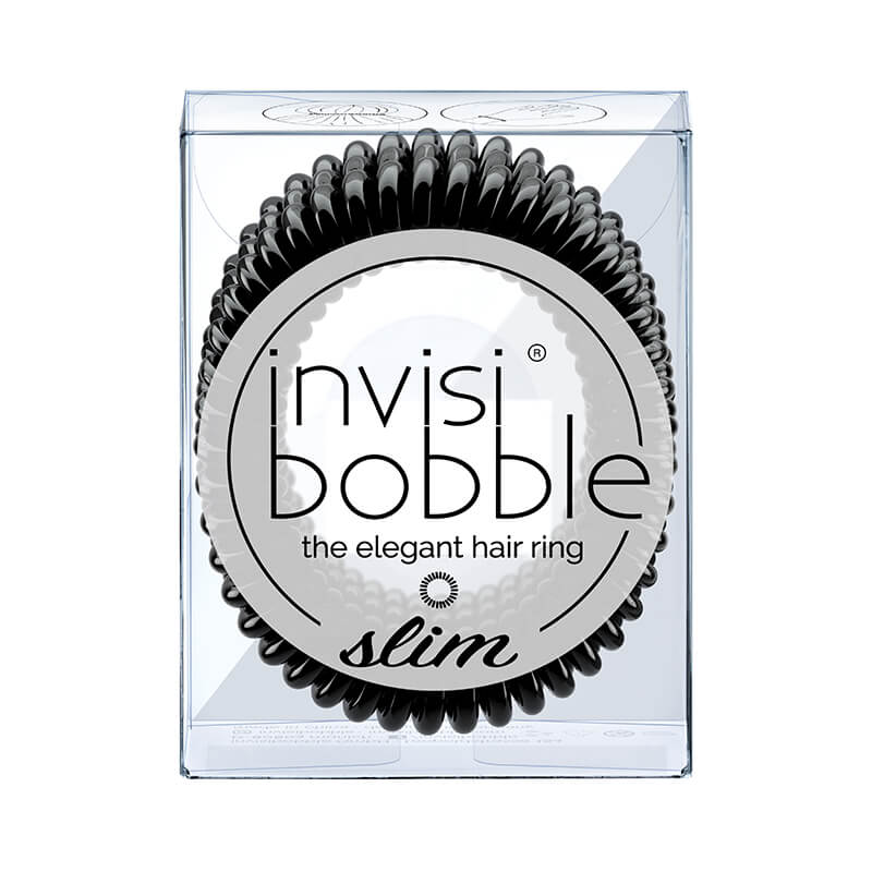 Invisibobble | Original Hair Tie Ring : Slim True Black