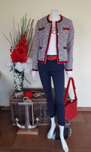 "Laden Sie das Bild in den Galerie-Viewer, Blazer ""Chanty"" HV Polo marine rot"