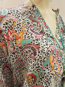 "Bluse ""Circus"" von Zwillingsherz Leo Paisley"