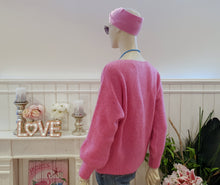"Laden Sie das Bild in den Galerie-Viewer, Live Love Smile Pullover Pulli ""Primavera"" Pink"