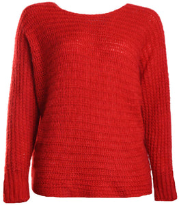 "Pullover Pulli ""Carla"" von Bosse Mohair Rot"