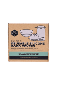 Eco reusable silicone food covers