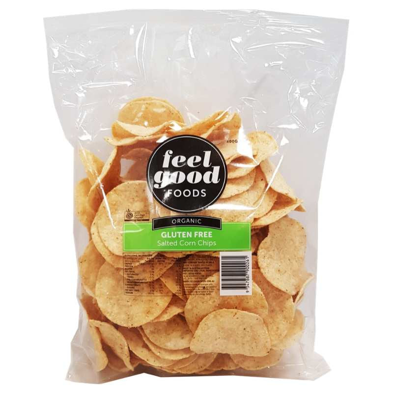 FGF- ORGANIC GF CORN CHIPS SALTED