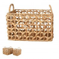 Set 2 Water Hyacinth Baskets