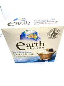 Earth laundry powder