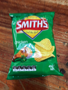45G SMITH CRINKLE CHICKEN 15'S
