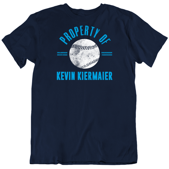 Kevin Kiermaier Property Of Tampa Bay Baseball Fan T Shirt