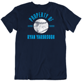 Ryan Yarbrough Property Of Tampa Bay Baseball Fan T Shirt
