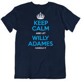 Willy Adames Keep Calm Let Handle It Tampa Bay Baseball Fan T Shirt