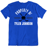 Tyler Johnson Property Of Tampa Bay Hockey Fan T Shirt