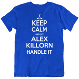 Alex Killorn Keep Calm Handle It Tampa Bay Hockey Fan T Shirt