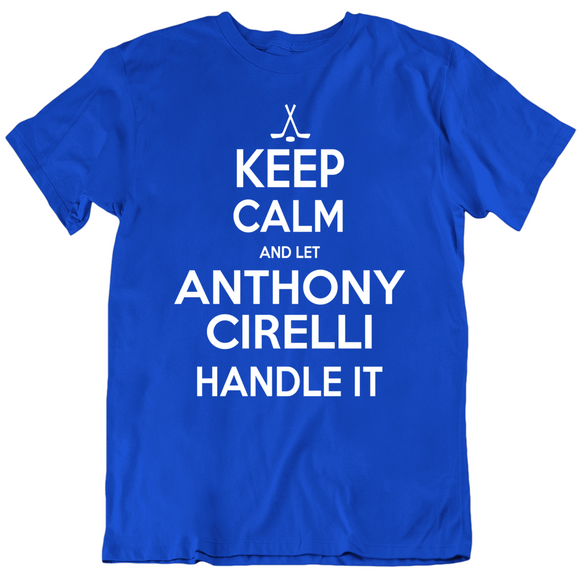 Anthony Cirelli Keep Calm Handle It Tampa Bay Hockey Fan T Shirt