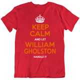 William Gholston Keep Calm Handle It Tampa Bay Football Fan T Shirt