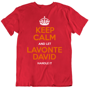 Lavonte David Keep Calm Handle It Tampa Bay Football Fan T Shirt