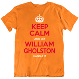 William Gholston Keep Calm Handle It Tampa Bay Retro Football Fan T Shirt