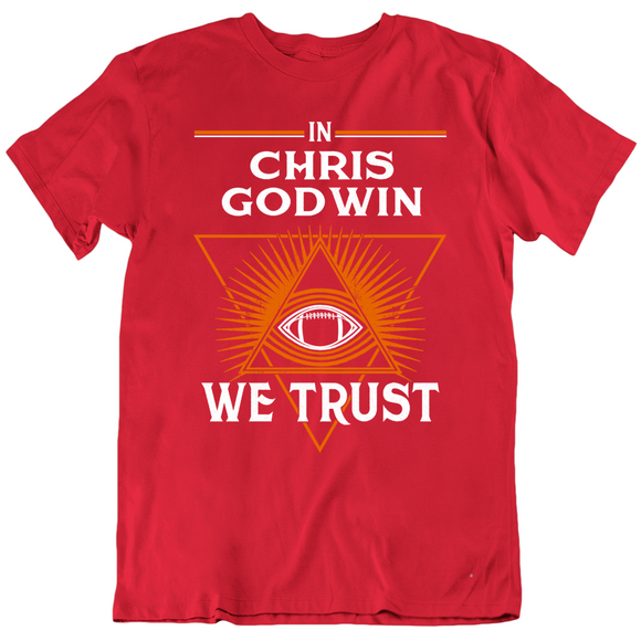 Chris Godwin We Trust Tampa Bay Football Fan T Shirt