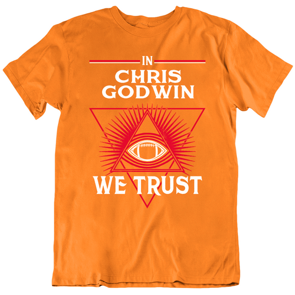 Chris Godwin We Trust Tampa Bay Retro Football Fan T Shirt