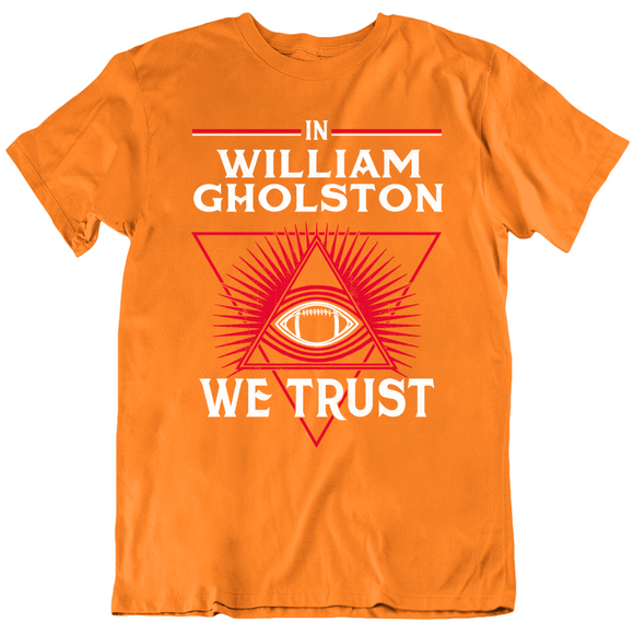 William Gholston We Trust Tampa Bay Retro Football Fan T Shirt