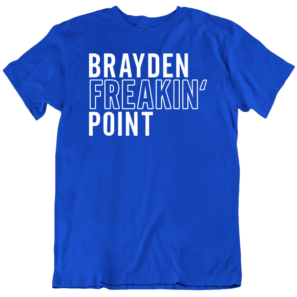 Brayden Point Freakin Tampa Bay Hockey Fan T Shirt