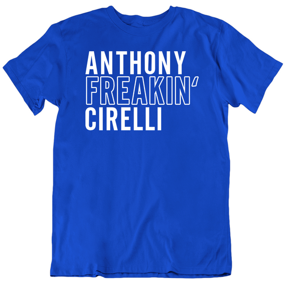 Anthony Cirelli Freakin Tampa Bay Hockey Fan T Shirt