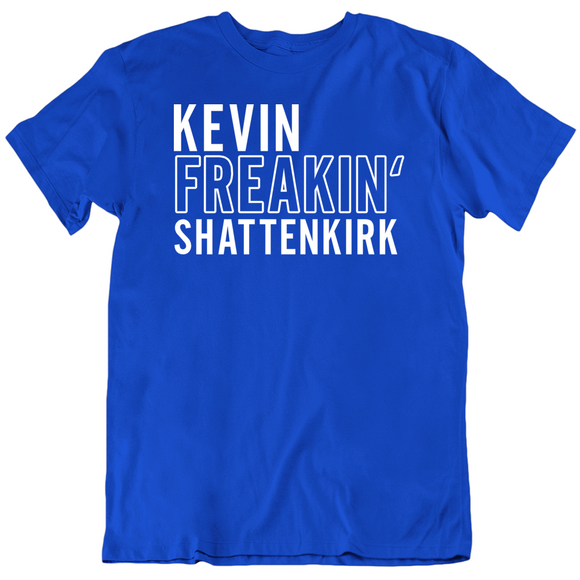 Kevin Shattenkirk Freakin Tampa Bay Hockey Fan T Shirt