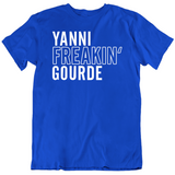 Yanni Gourde Freakin Tampa Bay Hockey Fan T Shirt
