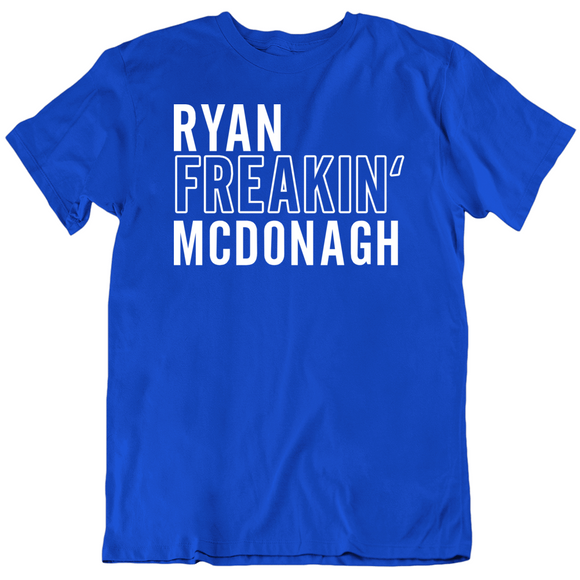 Ryan Mcdonagh Freakin Tampa Bay Hockey Fan T Shirt