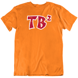 Tom Brady 2 TB2 Tampa Bay Football Fan T Shirt