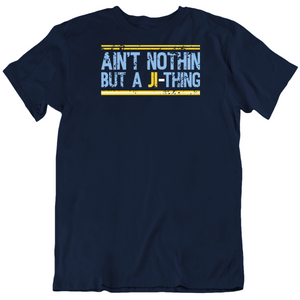 Ji Man Choi Aint Nothing Like Ji Thing Tampa Bay Baseball Fan Distressed T Shirt