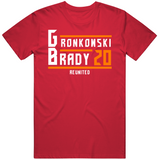 Rob Gronkowski Tom Brady Reunited Tampa Bay Football Fan T Shirt