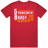 Rob Gronkowski Tom Brady Bad Boys For Life Tampa Bay Football Fan T Shirt