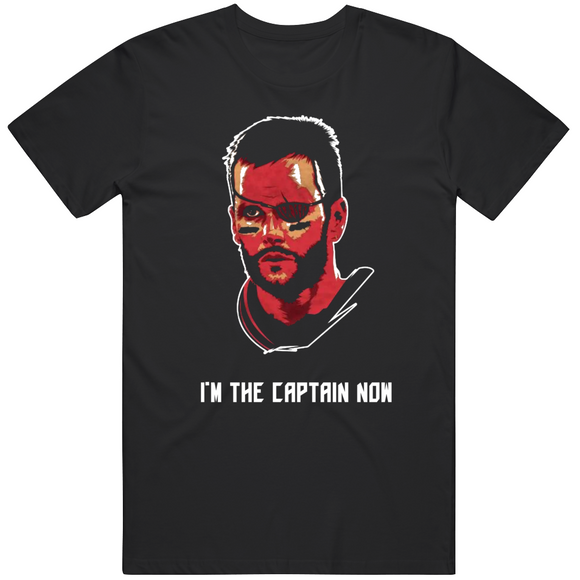 Tom Brady Tb12 Goat Im The Captain Now Tampa Bay Football Fan V3 T Shirt