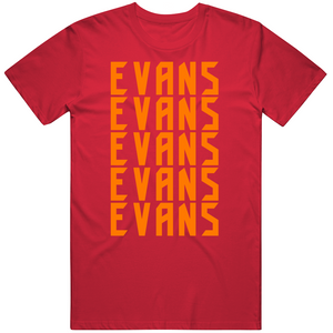 Mike Evans 5x Tampa Bay Football Fan T Shirt