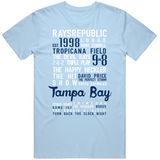 The Legend Of Tampa Bay Banner Tampa Bay Baseball Fan V3 T Shirt