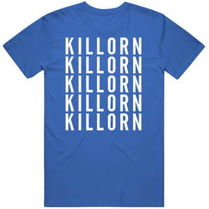 Alex Killorn X5 Tampa Bay Hockey Fan T Shirt