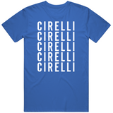 Anthony Cirelli X5 Tampa Bay Hockey Fan T Shirt