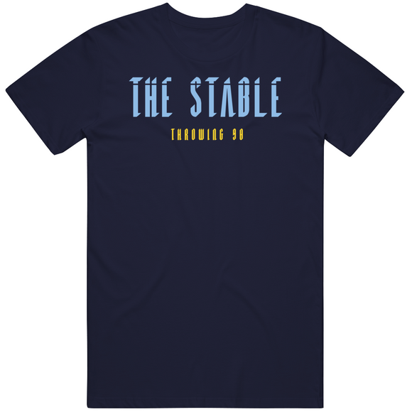 The Stable Throwing 98 Bullpen Tampa Bay Baseball Fan V2 T Shirt