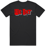 We Dat Tampa Football Fan Distressed v2 T Shirt