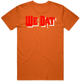We Dat Tampa Football Fan Distressed v3 T Shirt