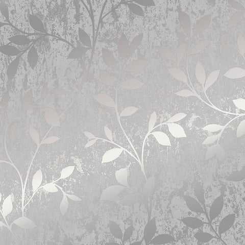 Superfresco 'Milan' Modern Abstract Wallpaper | Graham & Brown |106404 Trail Silver Grey - Wallpaper Mart