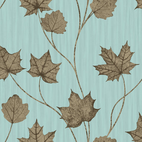Elements - Leaf Trail Wallpaper | Holden Decor | Maple - Wallpaper Mart