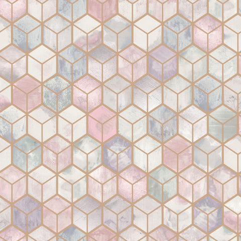 Elements - Modern Geometric Marble Wallpaper | Holden Decor | Tafoni - Wallpaper Mart