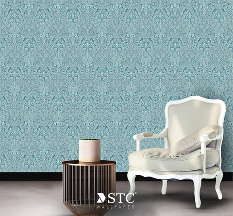 Priceless Contemporary & Damask Wall covering  | PL205-07-09 - Wallpaper Mart
