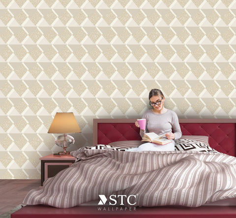 Priceless Contemporary & Damask Wall covering  | PL215-17-19 - Wallpaper Mart