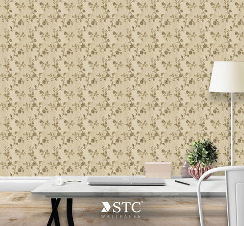Priceless Contemporary & Damask Wall covering  | PL235-36 - Wallpaper Mart