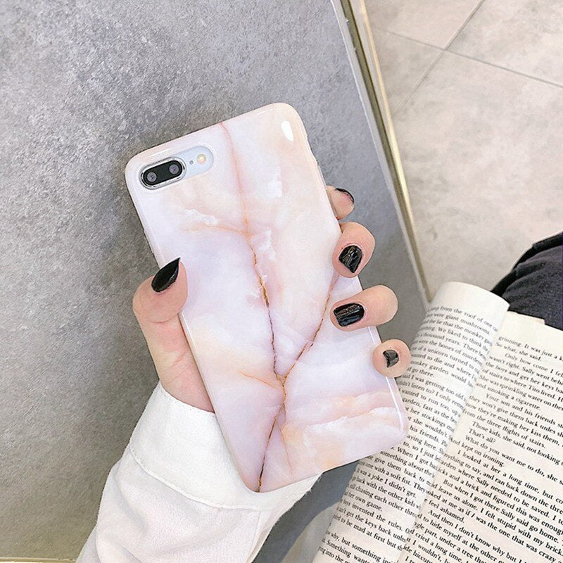 Vintage Marble iPhone Case